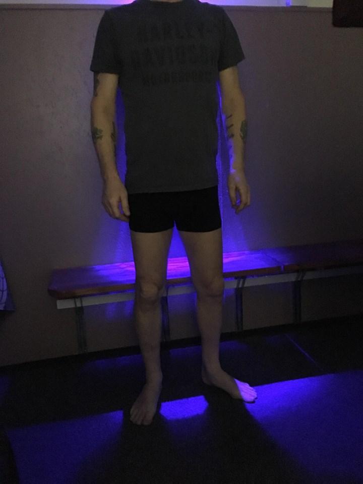 T-shirt og boxershorts